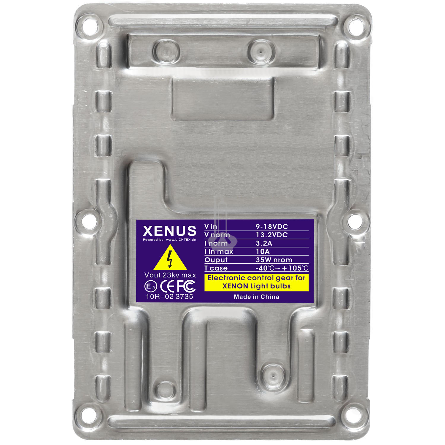 XENUS LAD5G 12PIN D1S Xenon Headlight Ballast, Replacement for Valeo