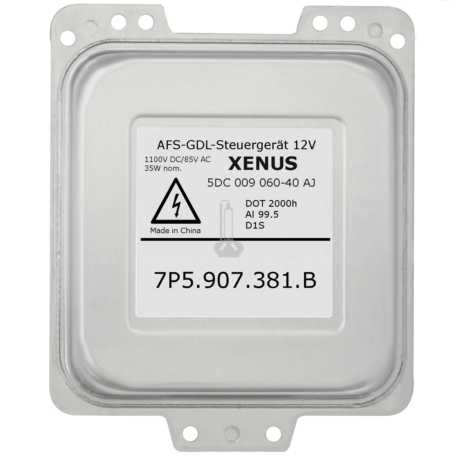 XENUS 5DC 009 060-40 AJ 7P5907381B AFS-GDL Xenon Headlight Ballast Control Unit, Replacement for Hella Porsche Cayenne 958