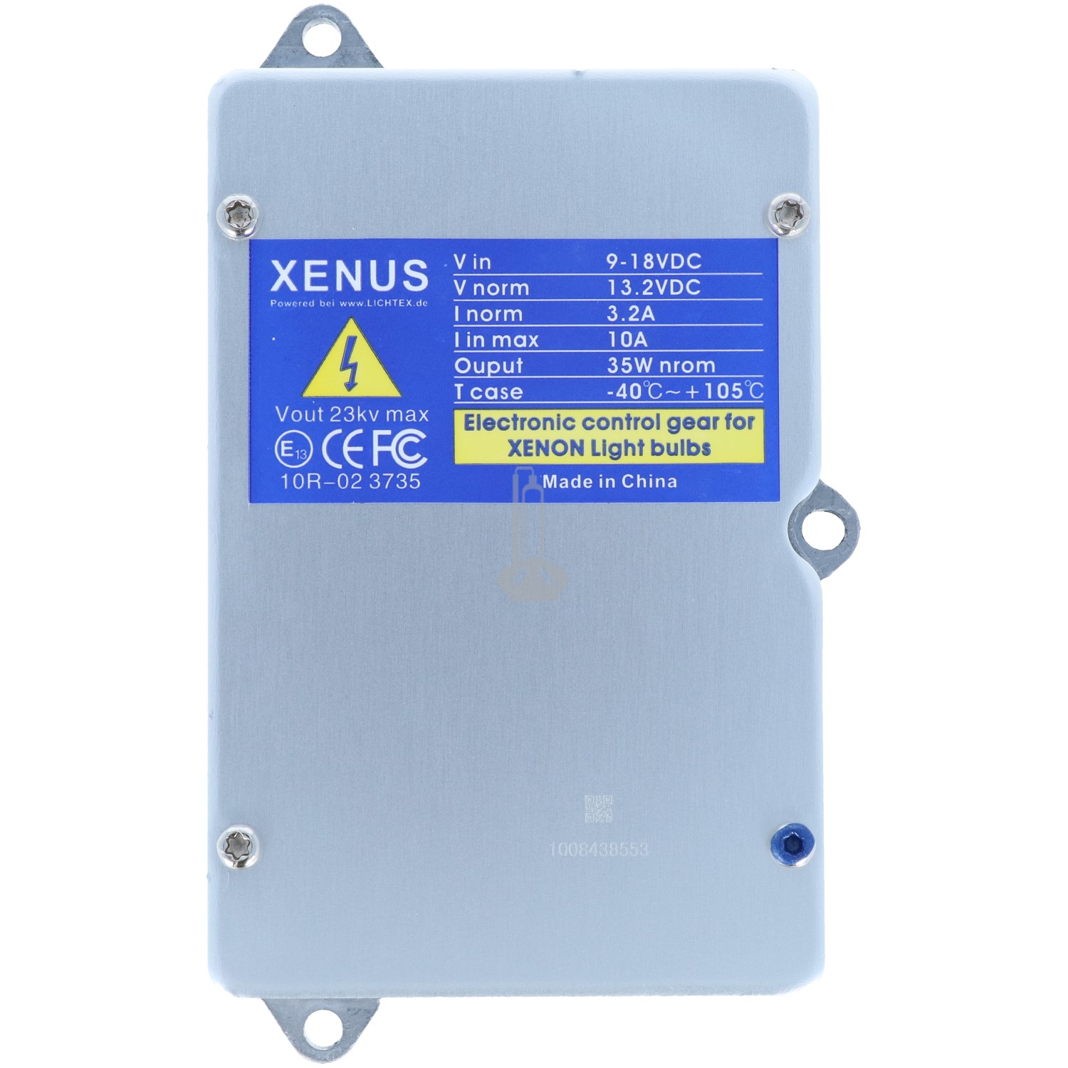 XENUS 5DV 008 290 Xenon Headlight Ballast, Replacement for Hella