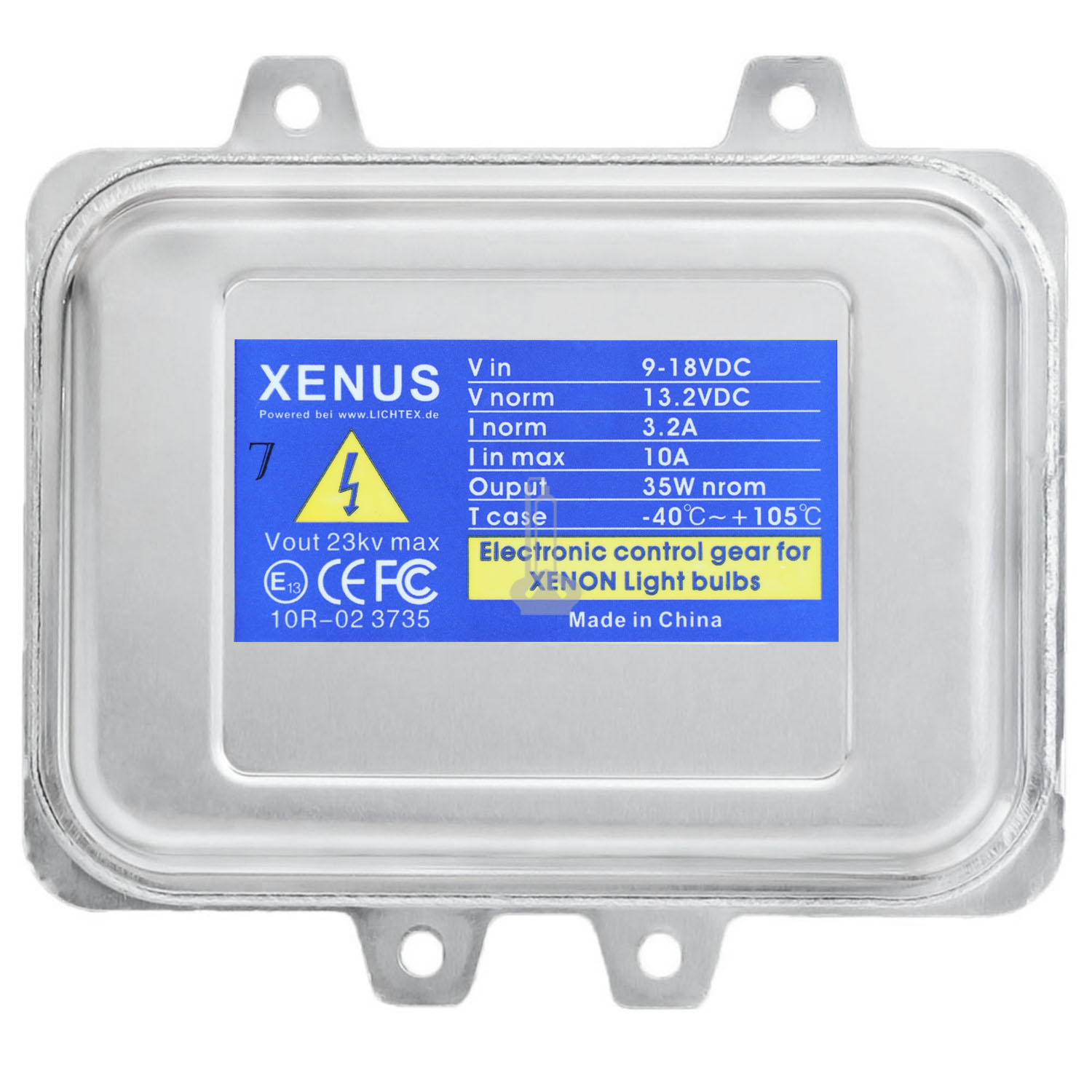 XENUS 5DV 009 000 Xenon Headlight Ballast, Replacement for Hella