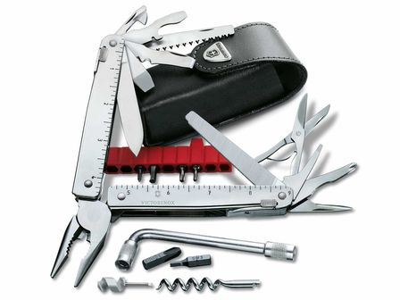 Victorinox SwissTool CS Plus in Lederetui