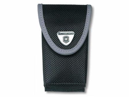 Nylon-Etui mit Innenfach für große Offiziersmesser bis 4 Lagen