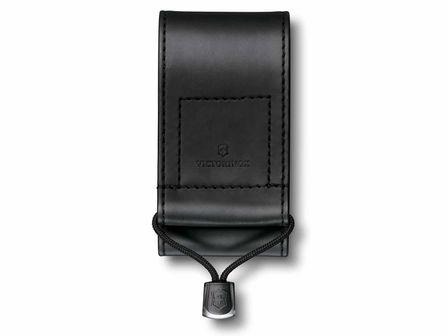 Kunstleder-Etui breit in schwarz