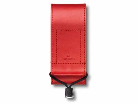 Kunstleder-Etui breit rot