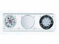 Kompass m. Massstab+Thermometer
