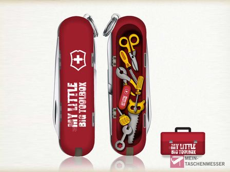 Victorinox Classic Limited Edition 2014 My Little Big Toolbox
