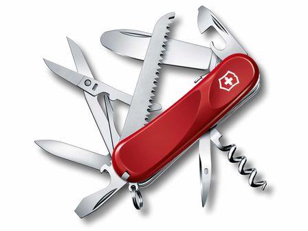 Victorinox Taschenmesser 10-teilig rot (Junior 03)