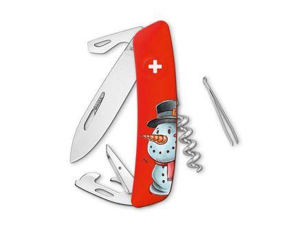 SWIZA D03 XMAS Edition Snowman rot