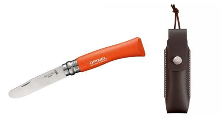 Opinel Kindermesser orange mit Etui