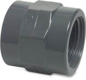 PVC Gewindemuffe 50x1 1/2  IG