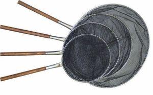 AL-Koikescher V2A mit Holzgriff d 70 cm