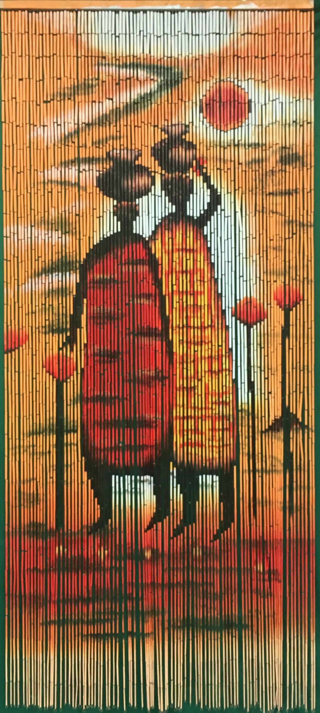 Bambusturvorhang Bambusvorhang Turvorhang Mombasa Xl Ca 115x220cm