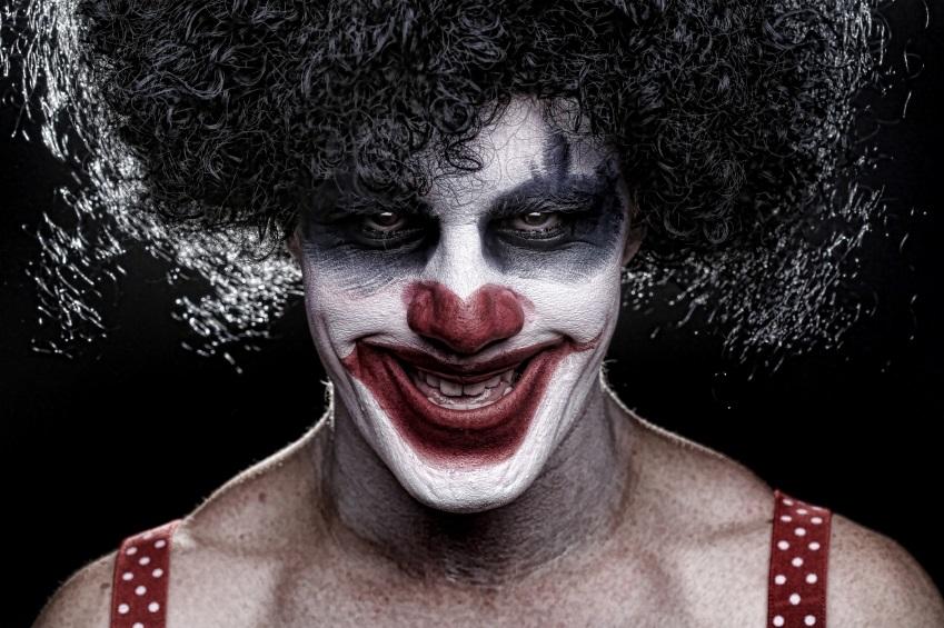 Halloween Make-Up Clown