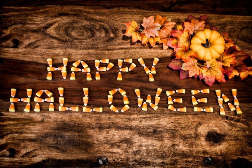 Happy Halloween Deko