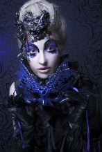 Karneval Kontaktlinsen blau