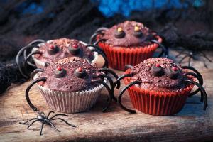 Schaurige Cupcakes