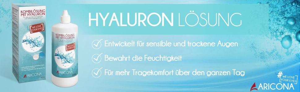 Kombilösung mit Hyaluron 360ml Set