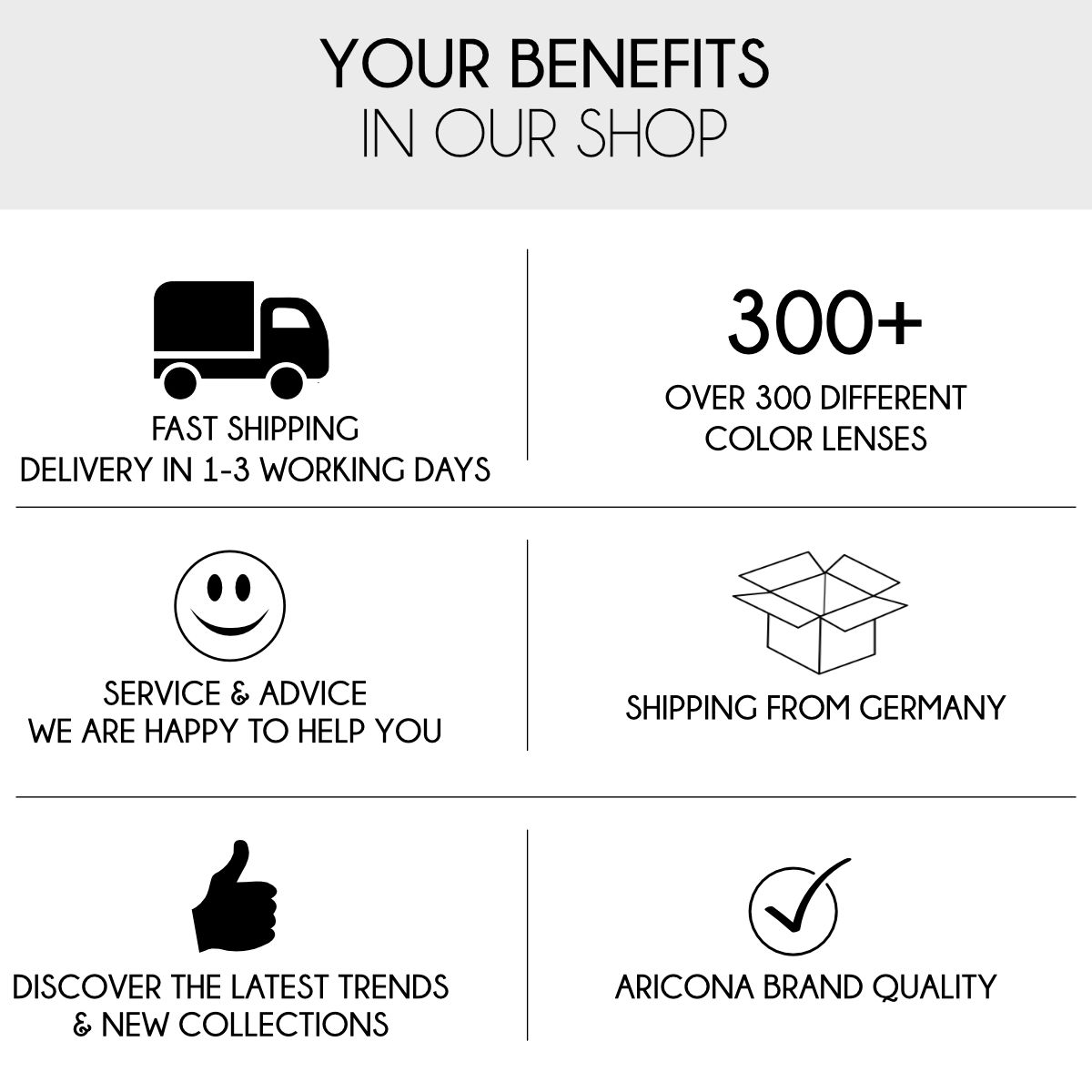 Benefits aricona