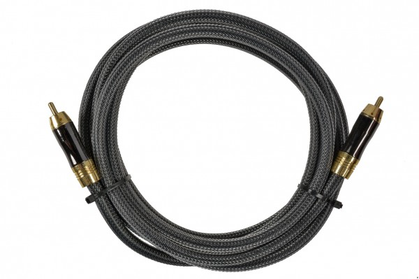 Cinch Kabel - Gold Serie