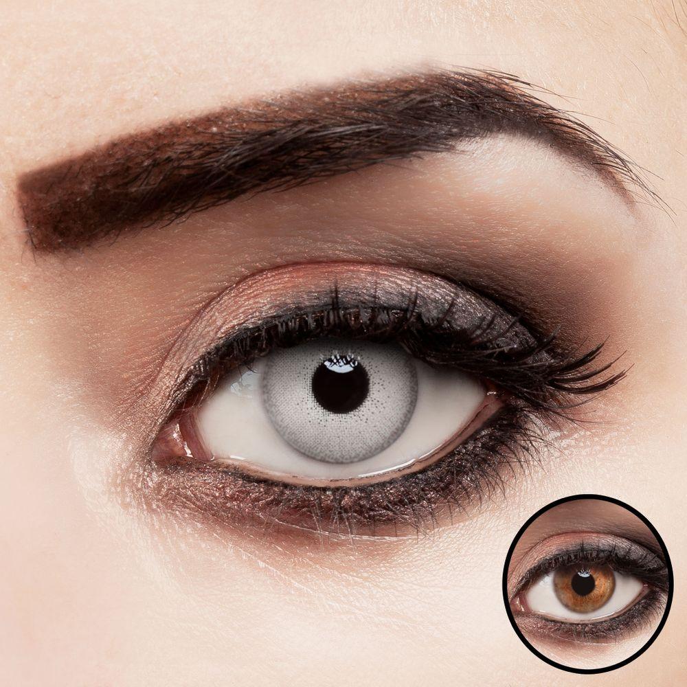 Farbige Kontaktlinsen - Crystal Gray