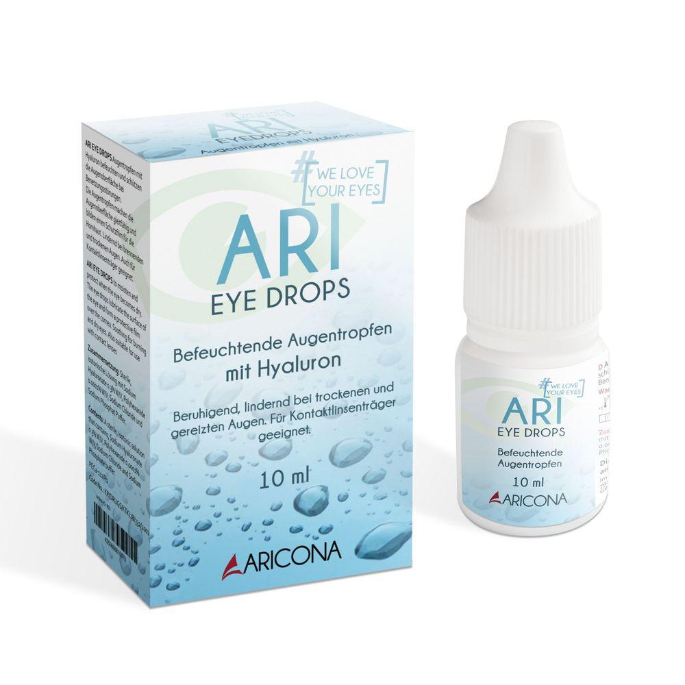 ARI EYE DROPS Hyaluron Augentropfen 10ml
