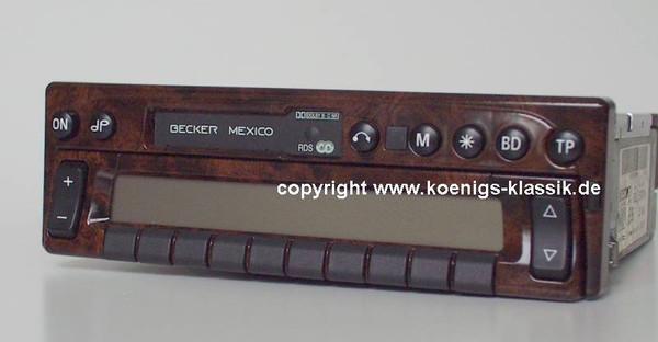 Becker Mexico 2330 im Wurzelholz-Design