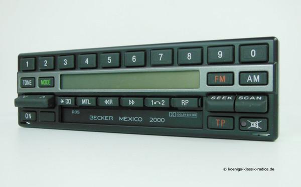 Becker Mexico Cassette Electronic, schwarze Ausführung