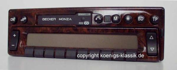 Becker Monza 2130 im Wurzelholz-Design