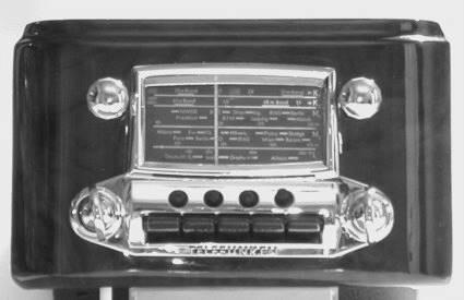 Telefunken for Mercedes 170S, 12V