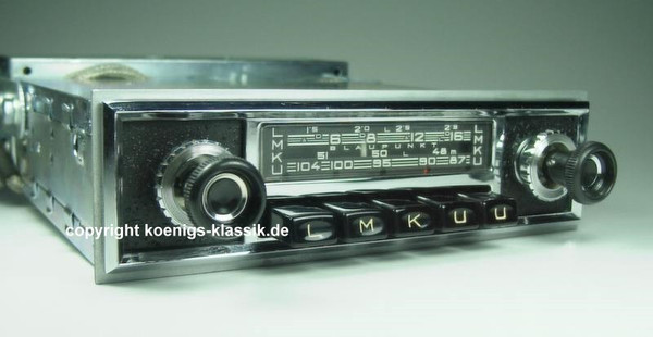 Blaupunkt Frankfurt for Mercedes 230 SL (113)