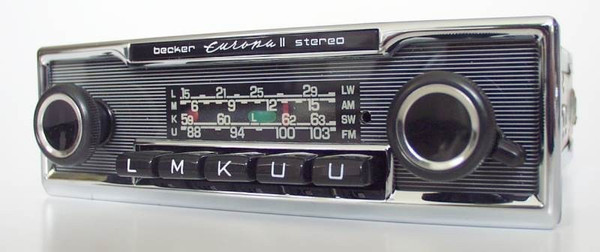 Becker Europa Stereo for Mercedes Benz 280 SL (113)