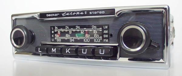 Becker Europa Stereo for Mercedes Benz 250-300 (108/109)