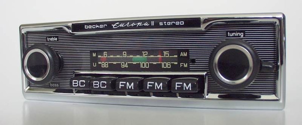 Becker Europa Stereo export version for Mercedes Benz 280 SL (113)