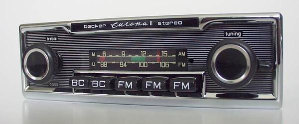 Becker Europa Stereo Exportausführung für Mercedes Benz 250-300 (108/109)
