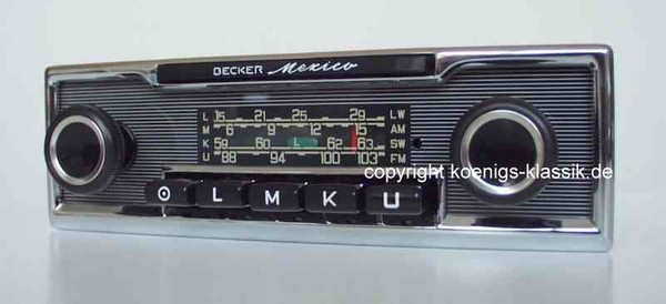Becker Mexico for Mercedes Benz 280 SL (113)