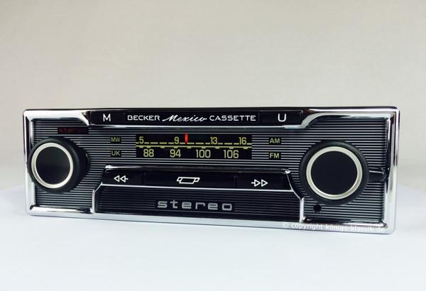 Becker Mexico Cassette Vollstereo for Mercedes Benz 250-300 (108/109)