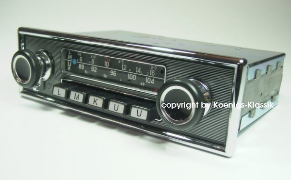 Blaupunkt Frankfurt for Mercedes Benz 280 SL (113)