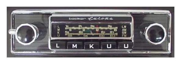 Becker Europa transistor for Mercedes Benz Ponton convertible/cabrio