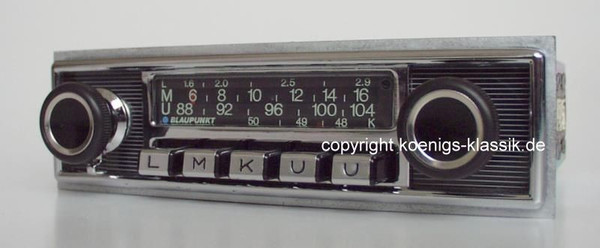 Blaupunkt Frankfurt for Mercedes 280 SE (111)