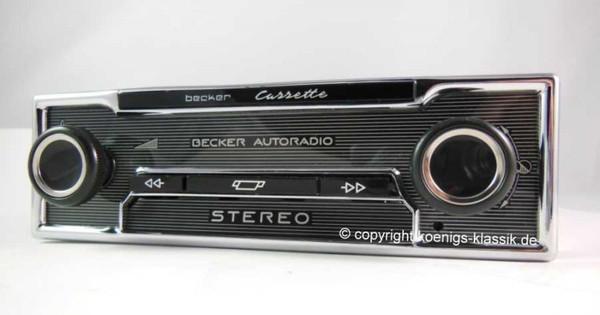 Becker cassette player for Mercedes Benz 600 (W100), Pullman and Landaulet