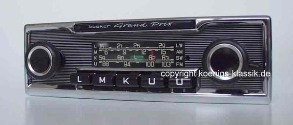 Becker Grand Prix für Mercedes Benz 280-450 (116) bis 1978
