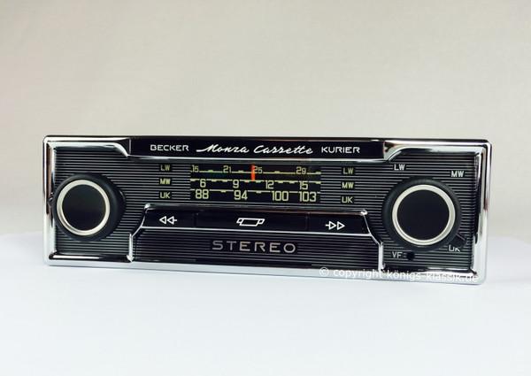 Becker Monza Cassette Kurier für Mercedes Benz 280-450 (116) bis 1978