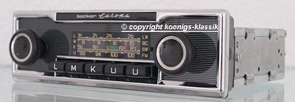 Becker Europa bis 108 Mhz für Mercedes Benz 107 bis 1978