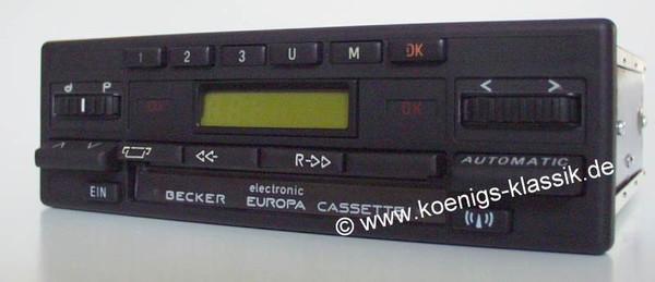 Becker Europa Cassette Electronic für Merc. Benz 107, ab 1985