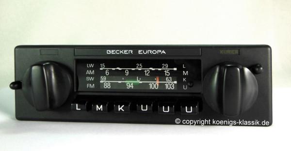 Becker Europa Kurier for Mercedes Benz 200-300 (123) until 1981