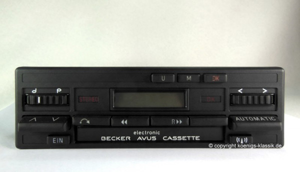Becker Avus Cassette Electronic for Merc. Benz 190 (201), 1985-90