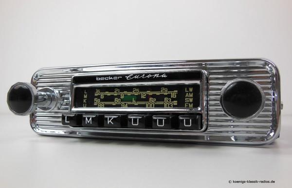 Becker Europa Transistorgerät mit 6 Tasten im 190 SL Design