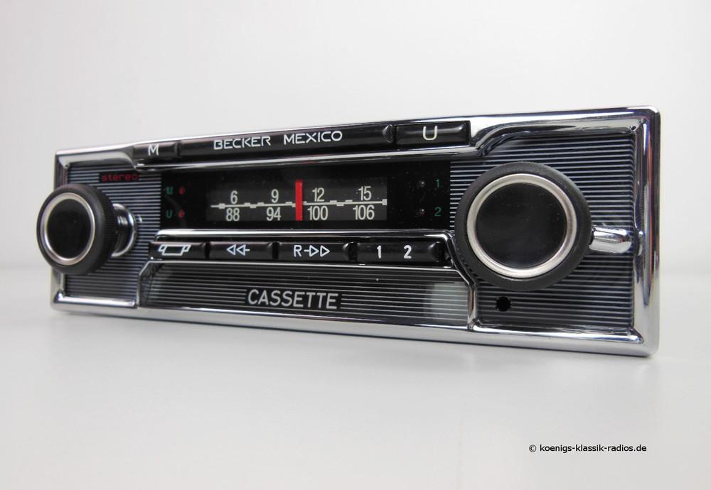 becker mexico cassette vollstereo autoreverse. Black Bedroom Furniture Sets. Home Design Ideas