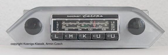 Becker Europa for Porsche 356 B + C