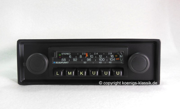 Blaupunkt Frankfurt Stereo for Porsche 911 late 70s and 80s, G-Model